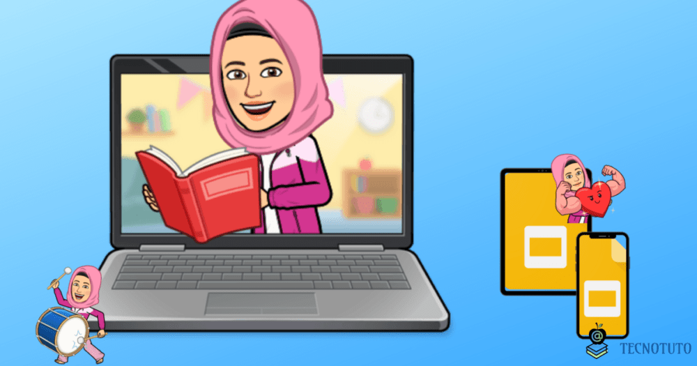 use bitmoji in google slides on iphone laptop android fr