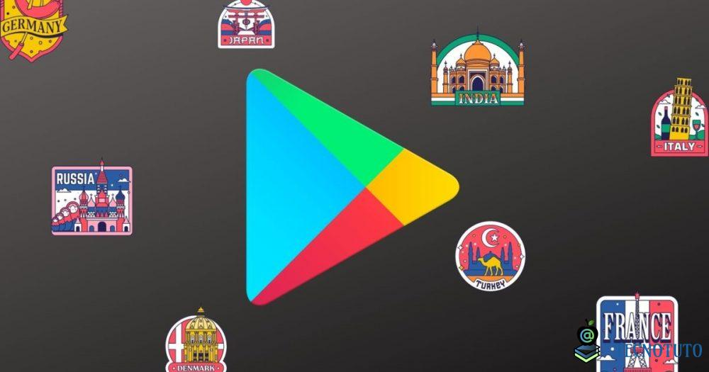 play store cannot change country fr