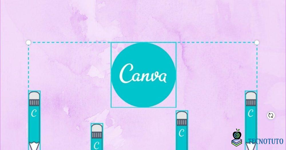 how to group elements in canva fr