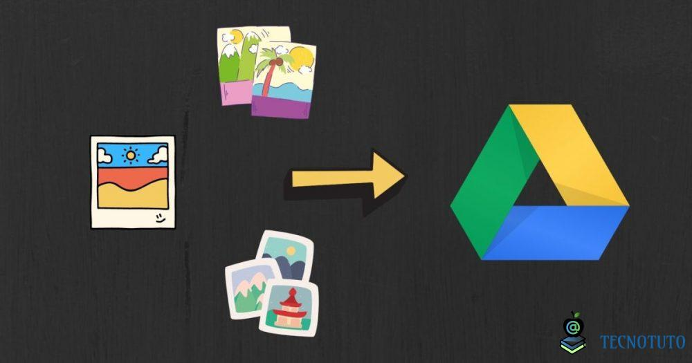 upload photos to google drive from android fr